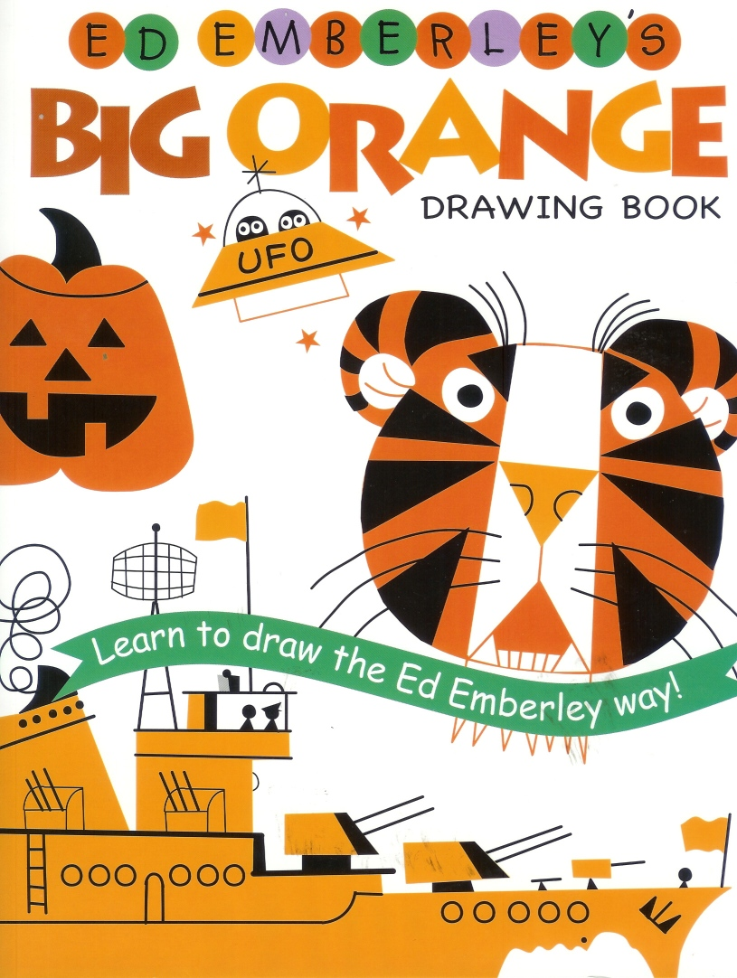 ed emberleys big orange drawing book - Drawing Books For Kids