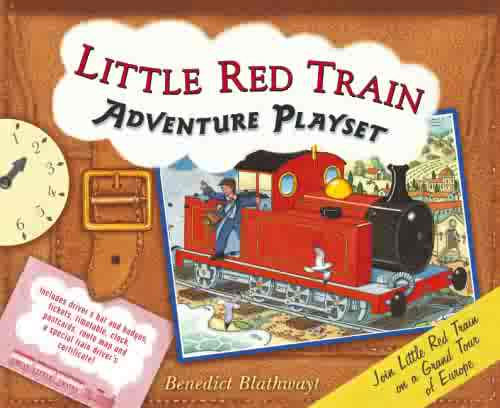 Little Red Train Adventure Playset