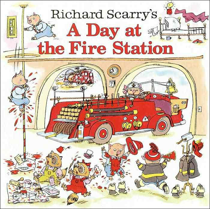 Richard Scarry's a day the fire Station