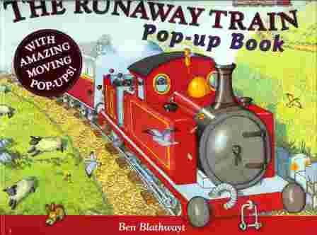 The Runaway Train Pop up Book