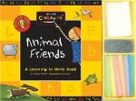 My Little Chalkboard: Animal Friends - A Learning-to-write Book