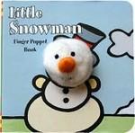 Little Snowman Finger Puppet Book