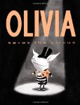 Olivia Saves the Circus Board Book