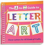 The A to Z guide to Letter Art